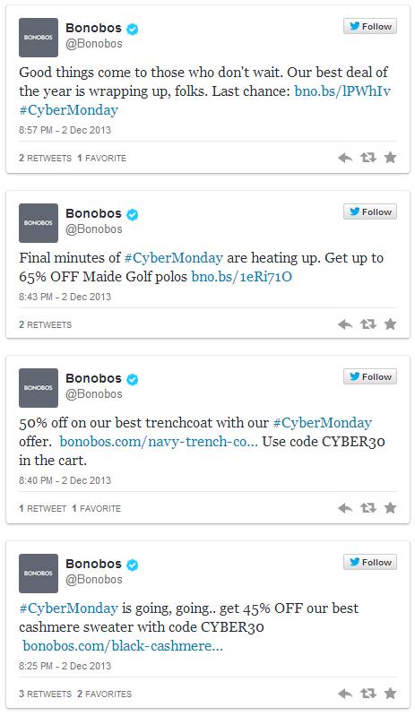 Bonobos-Twitter-Coupon-Campaign